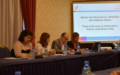National Conference: Access to Justice: Provision of Information, Advice and Free Legal Aid in Albania