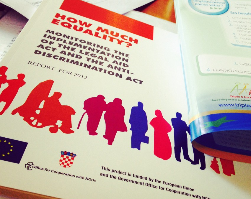 Triple A in Croatia, from individual assistance to citizens to advocacy